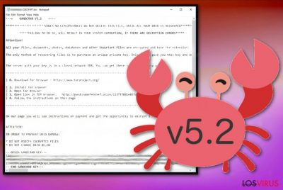 Ransomware GandCrab 5.2
