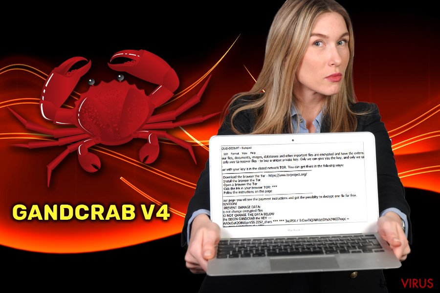 Ransomware GandCrab v4