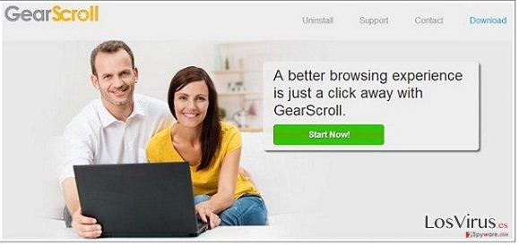 El virus GearScroll foto