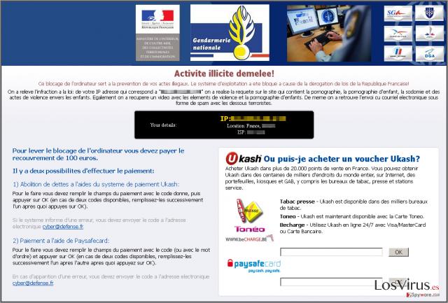 Virus Gendarmerie foto