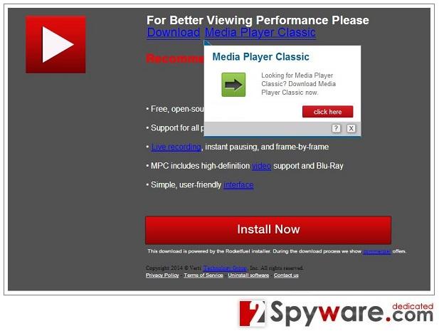 Los anuncios pop-up de Gld.PathTicket.net foto
