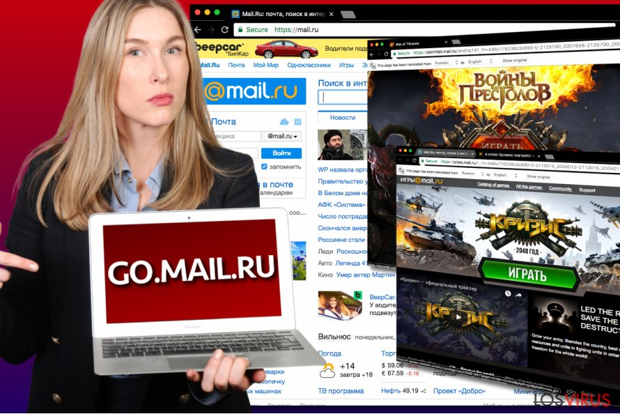 Virus go.mail.ru
