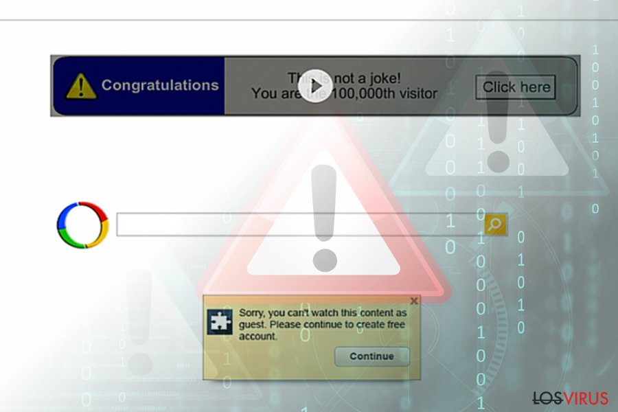 Google Redirect virus (search results)