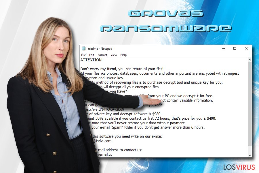 Ransomware Grovas