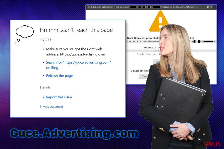 Error Guce.Advertising.com
