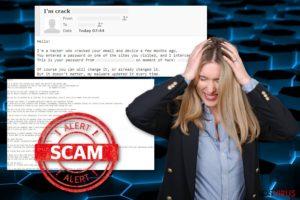 Estafa Hacker who cracked your email