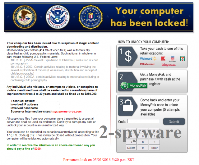 Homeland Security virus foto