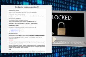 Virus ransomware HSDFSDCrypt
