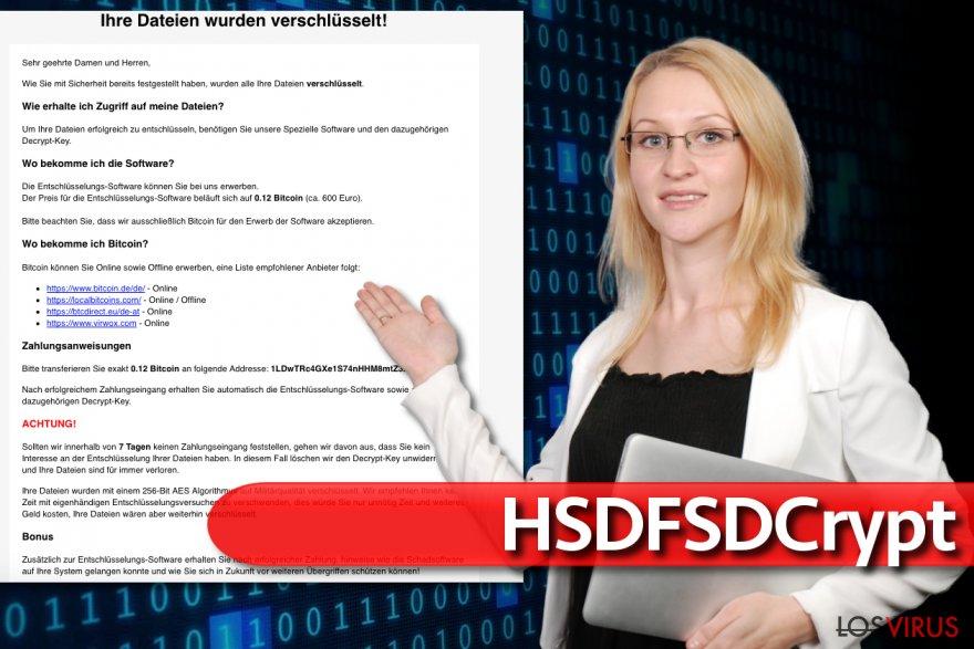 Virus HSDFSDCrypt
