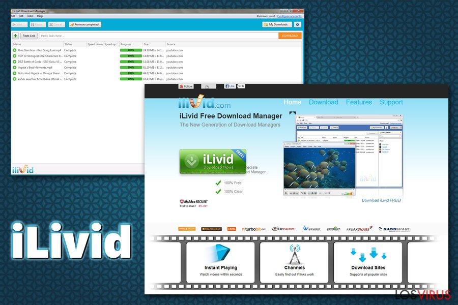 iLivid virus foto