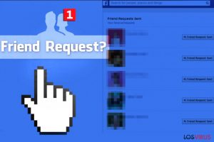 El virus Facebook Friend Request