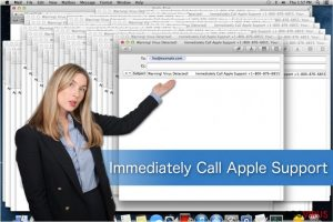 Estafa Immediately Call Apple Support