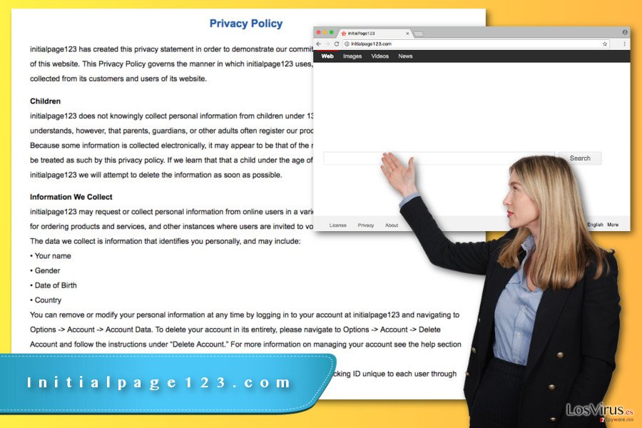 Virus Initialpage123.com