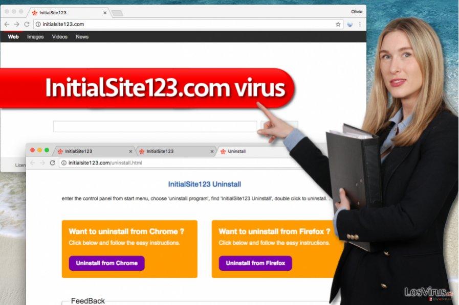 Virus InitialSite123.com
