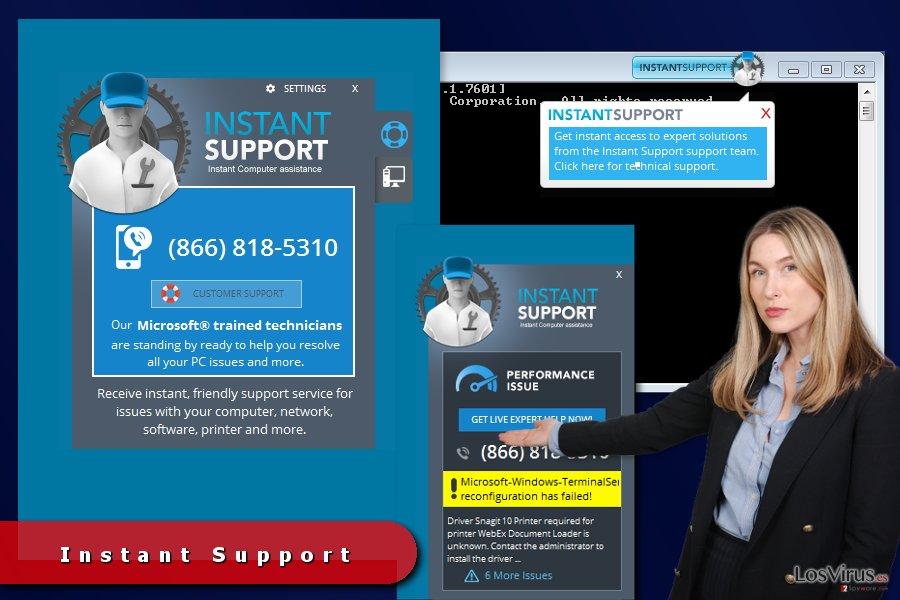 Anuncios de Instant Support foto