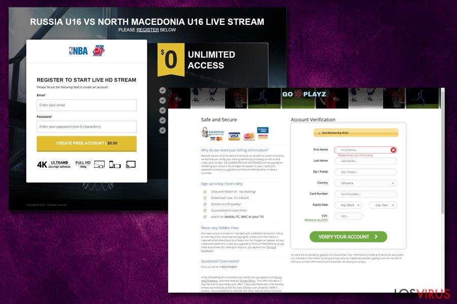 Jokerlivestream.com pide información de las tarjetas de crédito