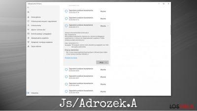 Malware Js/Adrozek