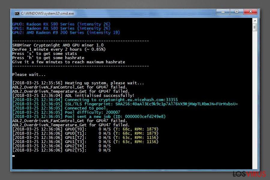 JS:Cryptonight virus foto