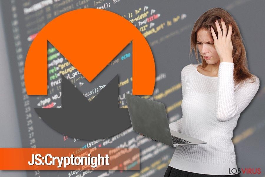 Imagen del malware JS:Cryptonight