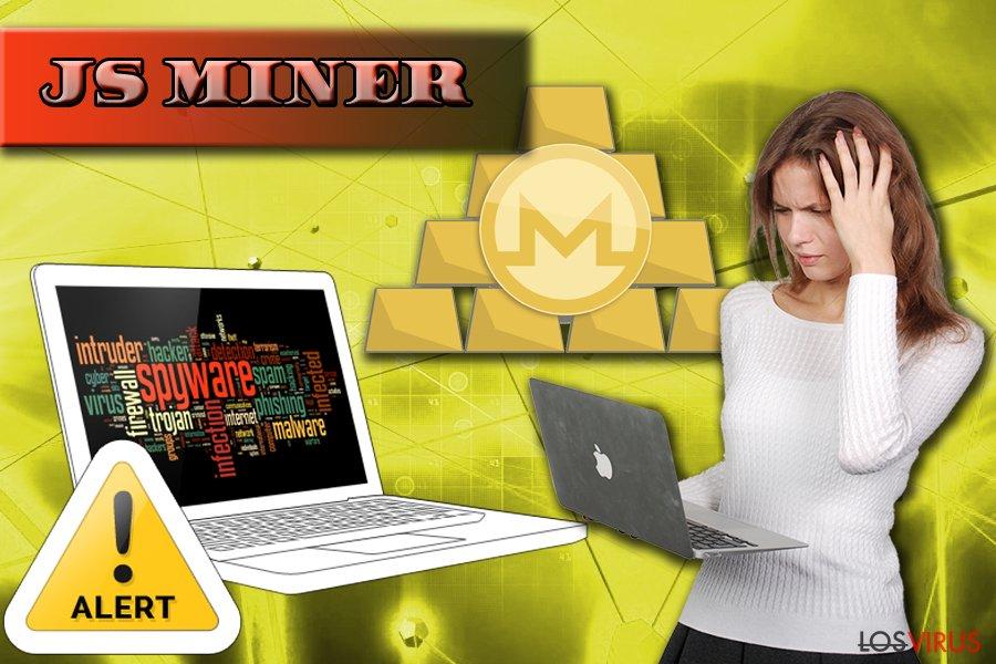 El cripto-minero Js Miner