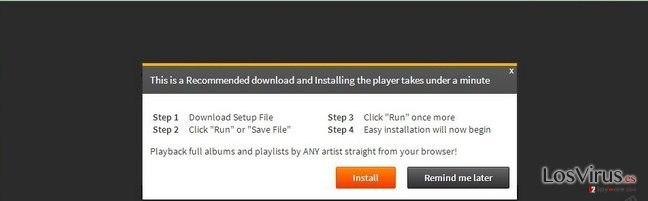 El virus 'Infected files have corrupted your Flash Player' foto