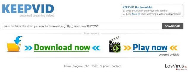 KeepVid.com foto