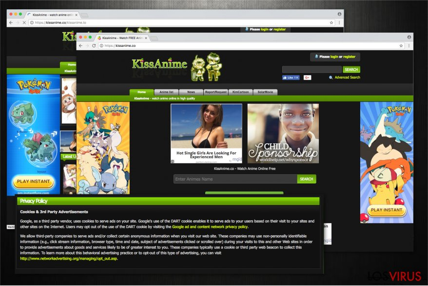 Kissanime virus illustration