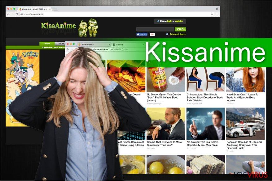 El virus Kissanime