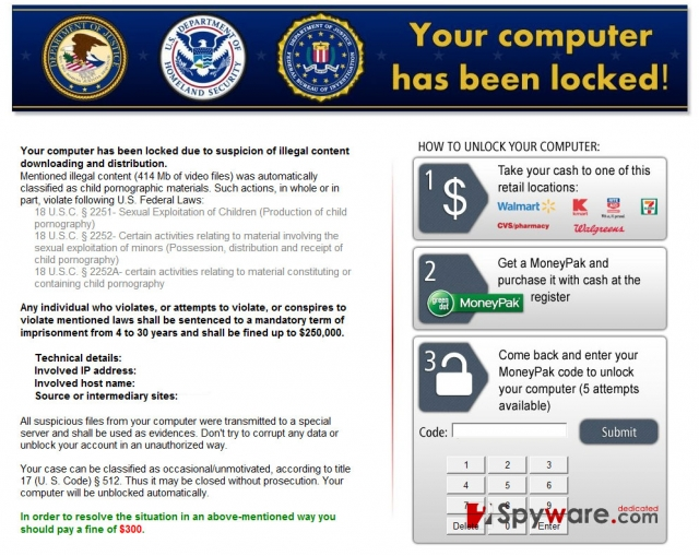 Kovter ransomware foto