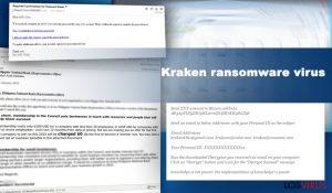 El virus ransomware Kraken