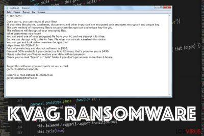 Ransomware Kvag