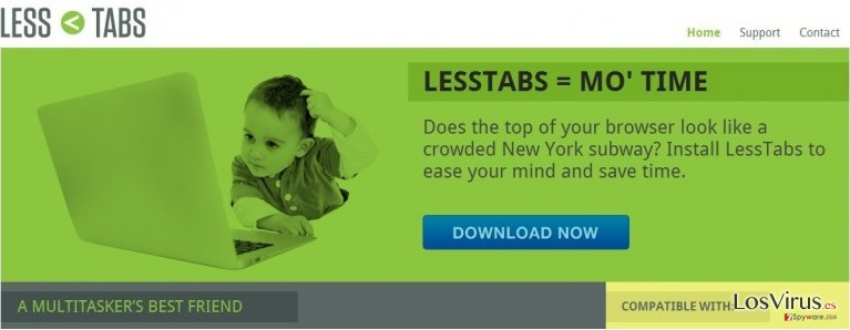 Less Tabs foto