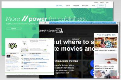 Ejemplo del adware lijit.com