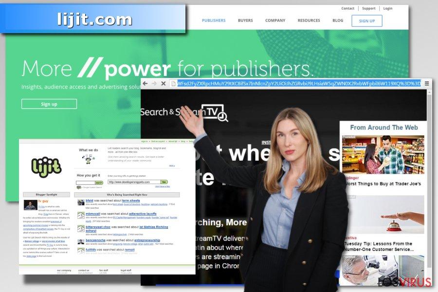 Imagen del virus lijit.com