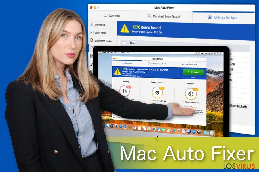 Ilustración de Mac Auto Fixer