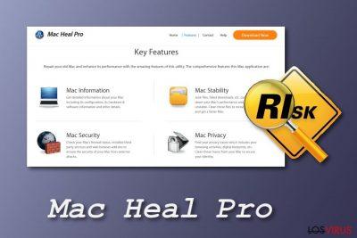 Herramienta del sistema Mac Heal Pro