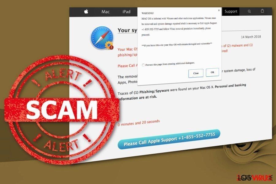 Virus Mac OS está infectado con Spyware