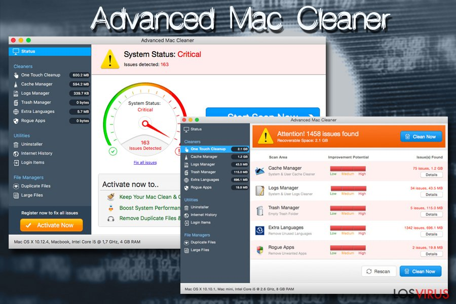 Virus Mac Advanced Mac Cleaner