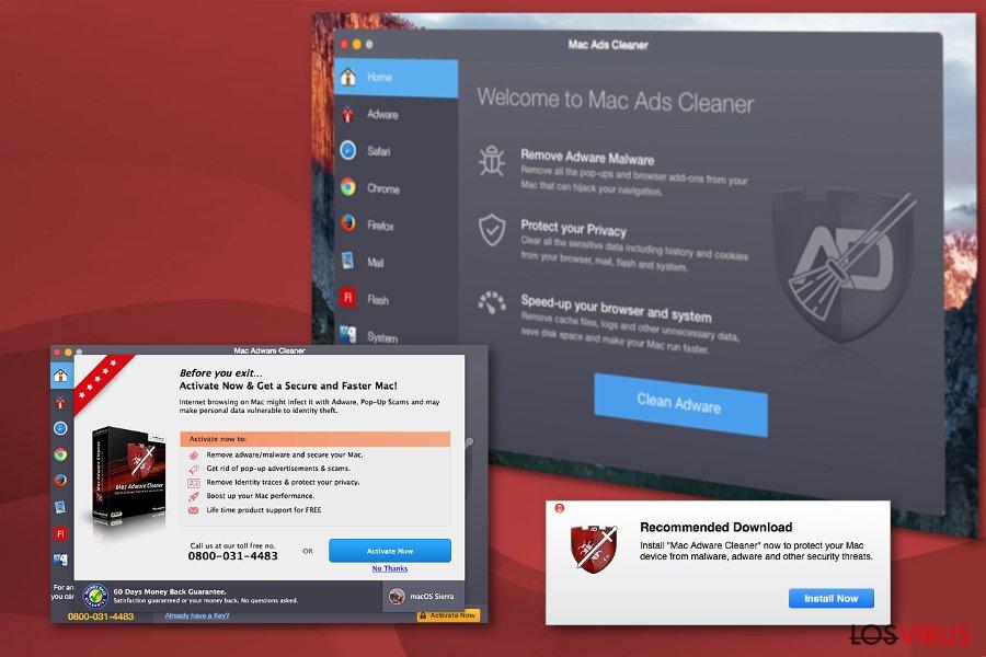 Mac Ads Cleaner adware