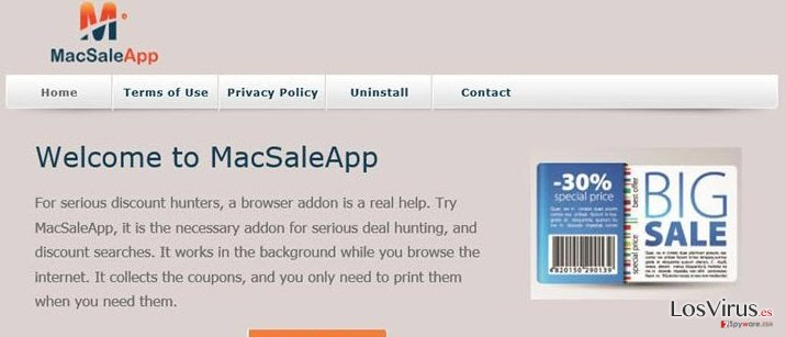 Los anuncios de MacSaleApp foto