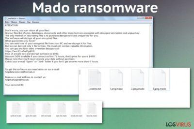 Ransomware Mado