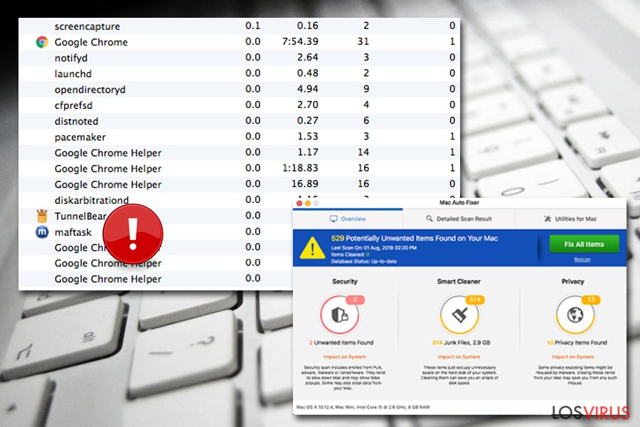 Maftask es parte de Mac Auto Fixer