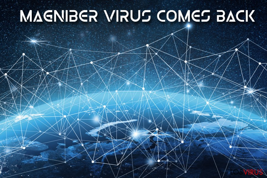 Virus ransomware Magniber foto