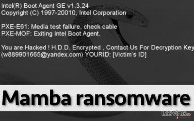 El ransomware Mamba no permite al usuario usar el PC