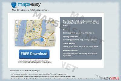Hacker de navegador Mapseasy.net