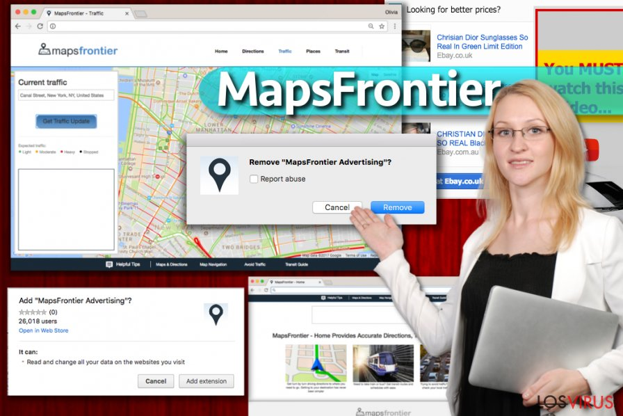 Anuncios de Maps Frontier