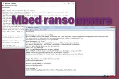 Ransomware Mbed