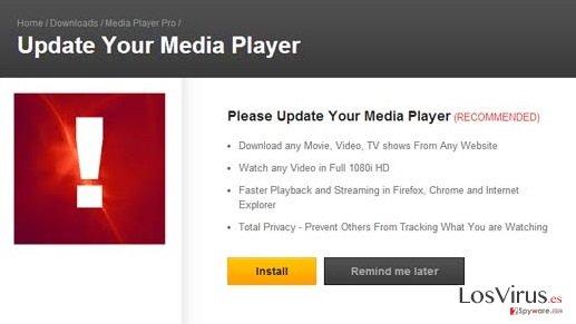 Los anuncios de MediaPlayersvideos 1.1 foto