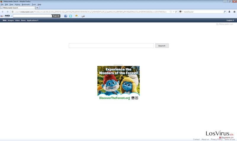 Metacrawler Toolbar foto