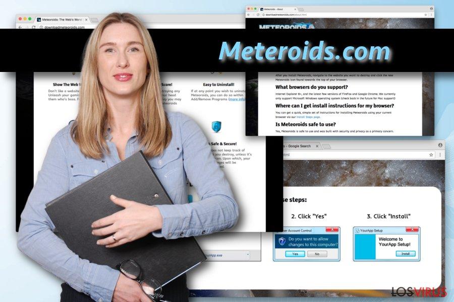El virus Meteoroids